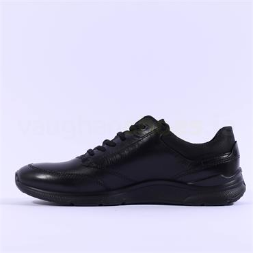 Ecco Men Irving Lace - Black Leather