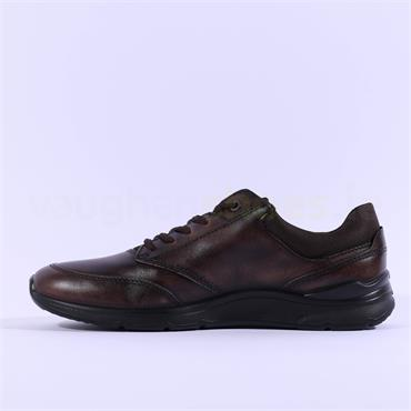 Ecco Men Irving Lace - Brown Leather
