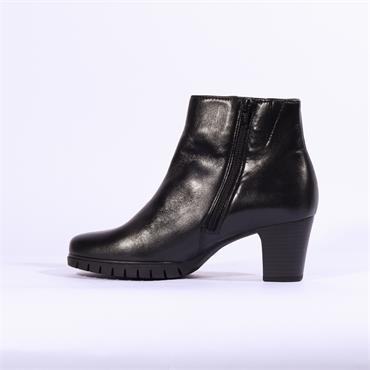 Gabor Honour Boot Print Strip Detail - Black Combi