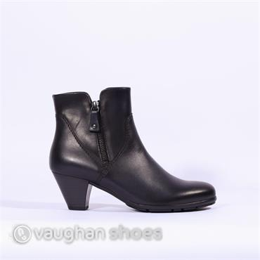 Gabor Ankle Boot With Side Zip Martineau - Navy