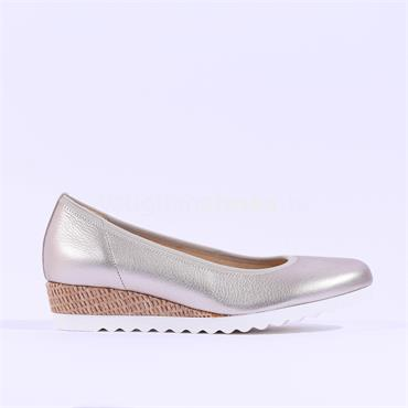Gabor Low Comfort Wedge Epworth - Gold