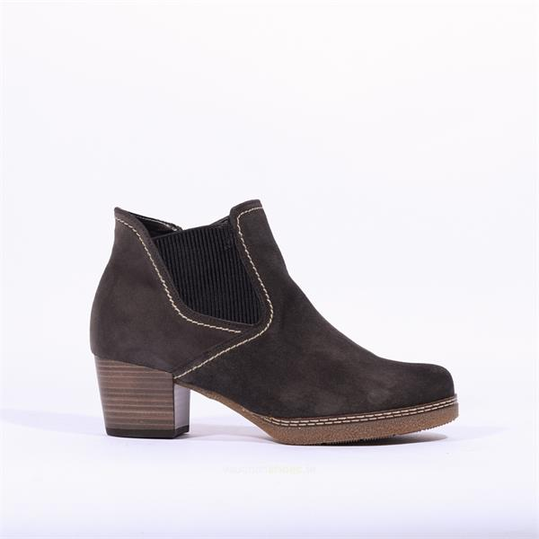 Gabor Heeled Boot With Side Gusset