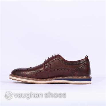 6th Sense Cartier Casual Brogue - Burgundy