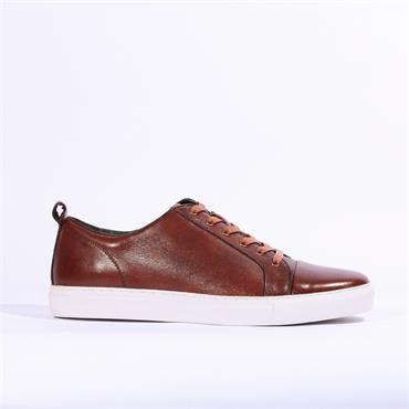 6th Sense DV2 Leather Trainer - Tan