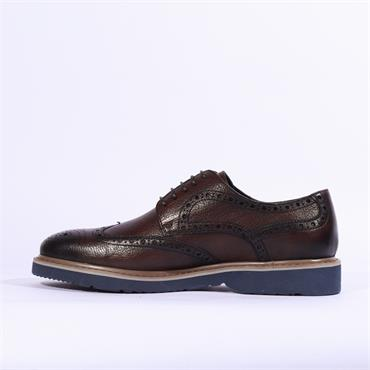 6th Sense Messi Casual Brogue - Coffee