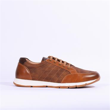 6th Sense Paulo Casual Shoe - Tan