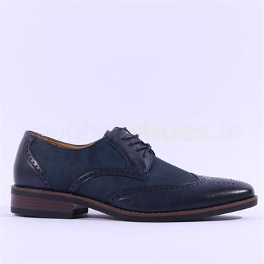 6th Sense Pierre Formal Shoe - Navy