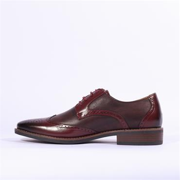 6th Sense Pierre Formal Shoe - Wine