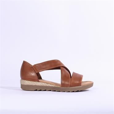 Gabor Strappy Sandal PROMISE - Brown