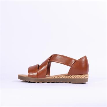 Gabor Strappy Sandal Promise - Tan