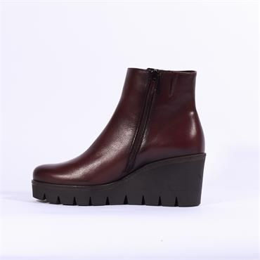 Gabor Platform Wedge Boot Utopia - Wine