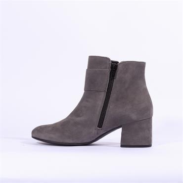 Gabor Candice Jewel Stud Buckle Boot - Dark Grey