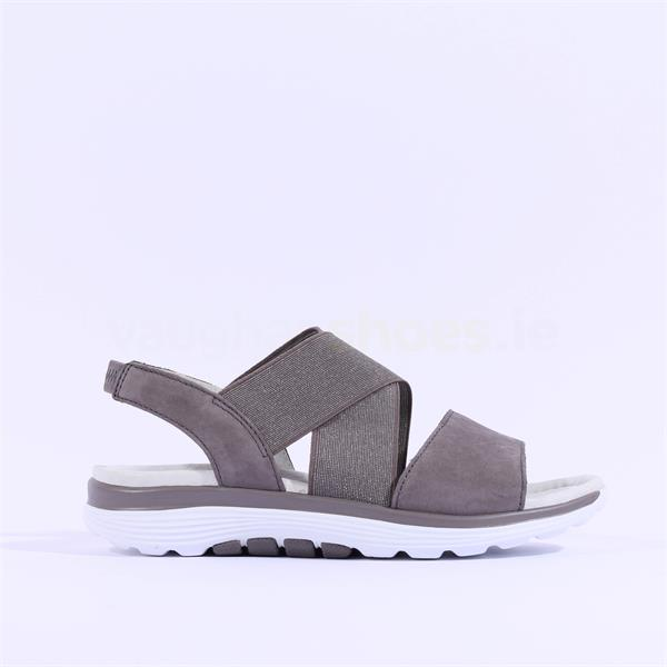 Gabor Elasticated Sandal Sacred - Dark Grey | Vaughan
