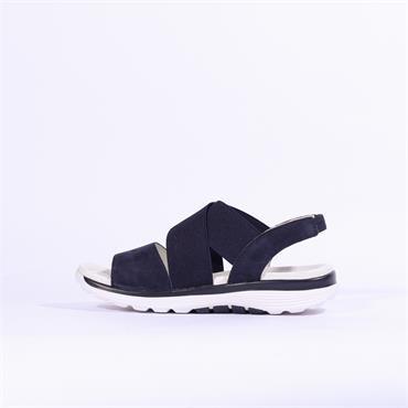 Gabor Elasticated Sandal Sacred - Navy