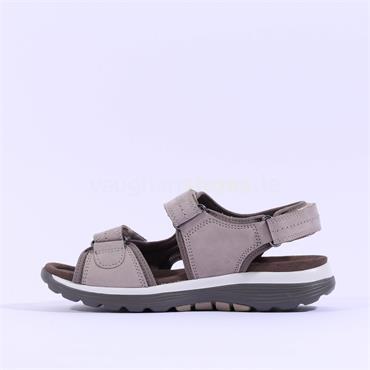 Gabor 2 Velcro Strap Sandal Lanark - Taupe