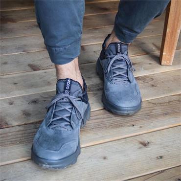 Ecco Men MX Shoe - Grey Nubuck