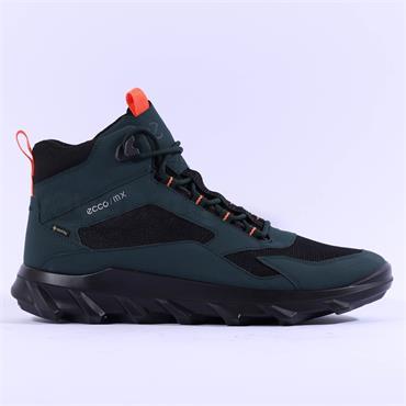 Ecco Men MX GTX Boot - Green Black