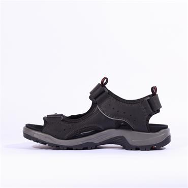 Ecco Men Offroad Sandal - Black