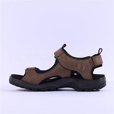Ecco Men Offroad Sandal - Brown