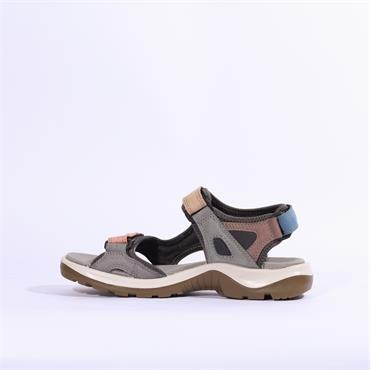 Ecco Multicolour Pastel Offroad Sandal - Multi