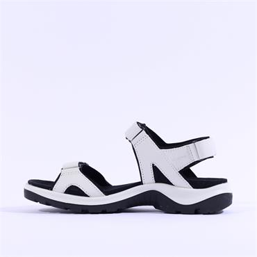 Ecco Women Offroad Sandal - White Leather