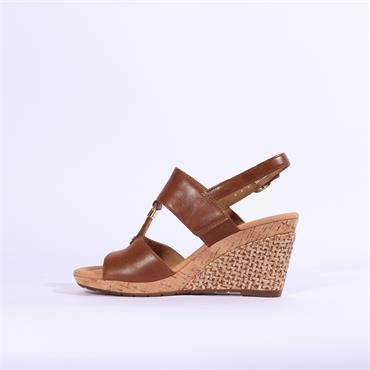 Gabor Espredrille Wedge Sandal Keira - Tan