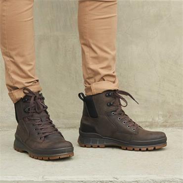 Ecco Men Track 25 Hydromax Boot - Coffee