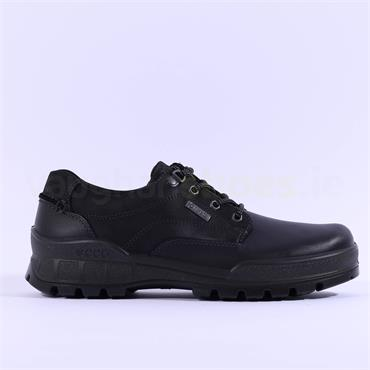 Ecco Men Track 25 Goretex Shoe - Black Leather
