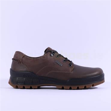 Ecco Men Track 25 Goretex Shoe - Brown Leather