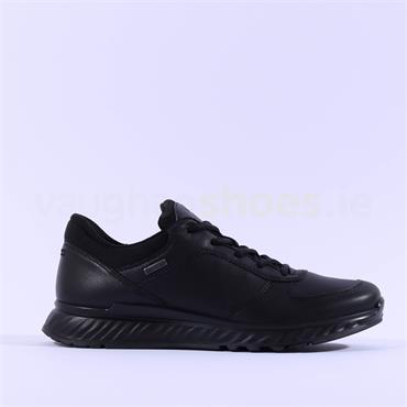 Ecco Women Exostride GoreTex - Black Leather
