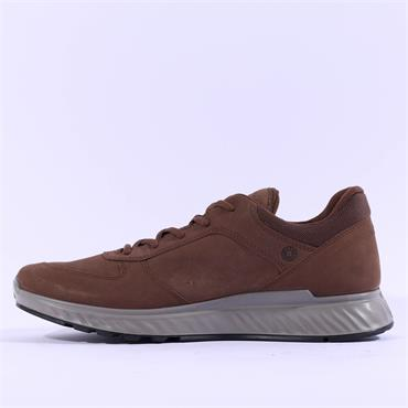 Ecco Men Exostride GoreTex Shoe - Brown Nubuck