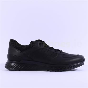 Ecco Men Exostride - Black Leather
