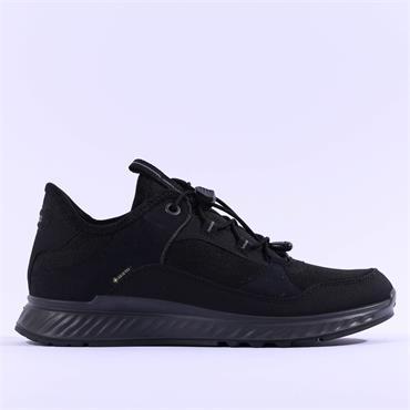 Ecco Women Exostride GoreTex Shoe - Black Combi