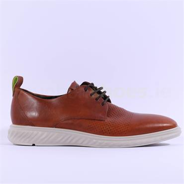 Ecco Men ST1 Hybrid Laced Shoe - Amber