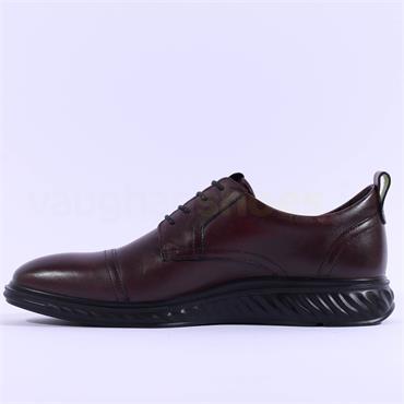 ECCO ST.1 HYBRID TOECAP - Bordeaux Leather