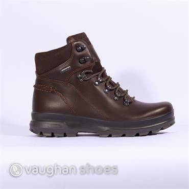 ECCO Rugged Gortex Boot - Bison/Bison