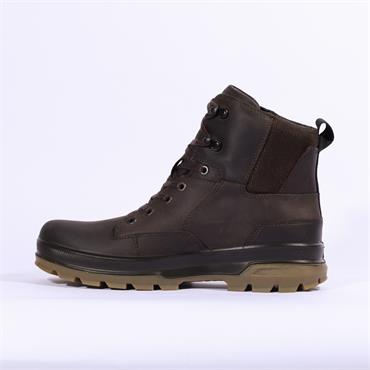 Ecco Mens Rugged Track Hydromax - Coffee