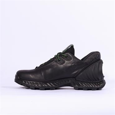 Ecco Men Exohike Shoe - Black Leather