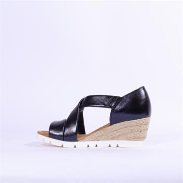 Gabor Strappy Sandal Lisette - Navy