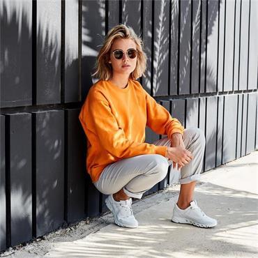 Ecco Women Multi-Vent GoreTex Trainer - White Leather