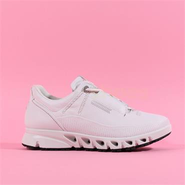 Ecco Women Multi Vent GTX - White Leather