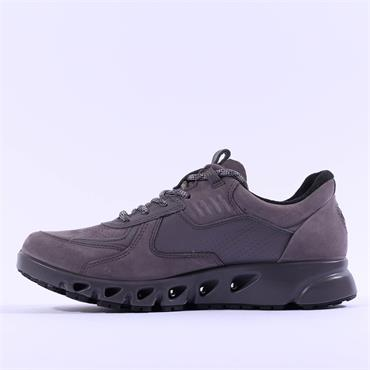 Ecco Women Multi-Vent GoreTex Shoe - Mauve Grey Nubuck