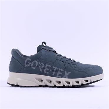 Ecco Men Multi-Vent Gtx Shoe - Blue