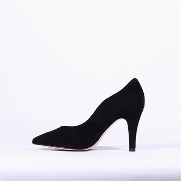Caprice Pointed Toe High Heel Effi - Black Suede