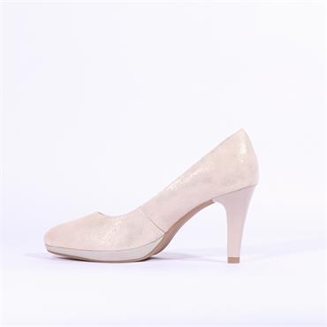Caprice Ashley Platform High Heel - Rose