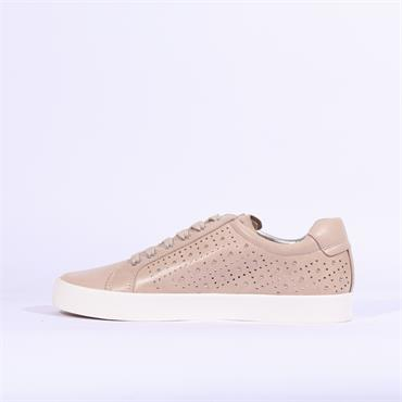 Caprice Ivy Casual Trainer Stud Detail - Rose