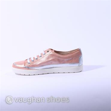 Caprice Laced Casual Shoe - Pink