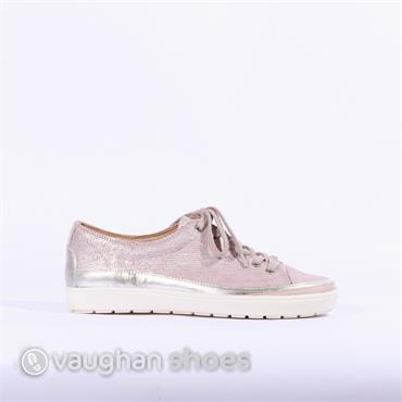 Caprice Laced Casual Shoe - Rose