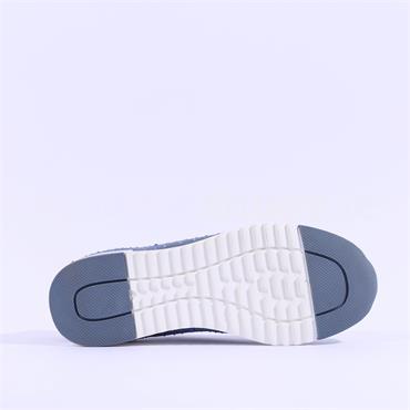 Caprice Slip On Stud Trainer Kaiafly - Blue Fabric
