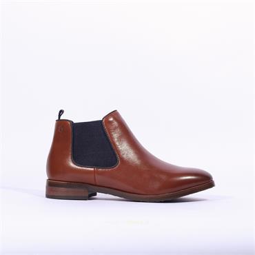 Caprice Joleen Flat Gusset Boot - Tan